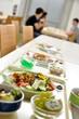 Menü in der Mensa Schulmensa Essen