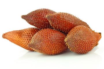 Salak Fruit On White Background