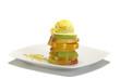 gelato alla crema con base di frutta