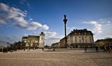 Plac Zamkowy w Warszawie i kolumna Zygmunta III Wazy