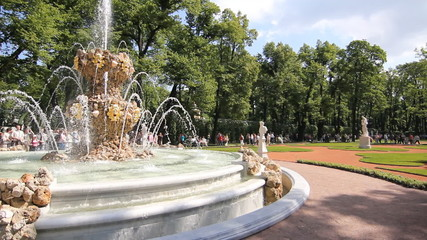 St. Petersburg. Large Fountain of the Summer Garden (2012)