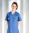 Friendly nurse portrait