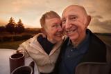 Loving Mature Couple Smiling