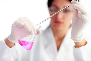 Female Laboratory Scientist