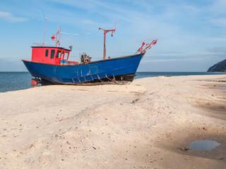 Fischkutter Ostseeküste Wollin