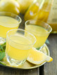 Lemon liqour (limoncello)