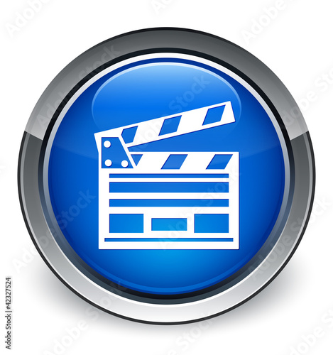 """Cinema clip board"" icon"