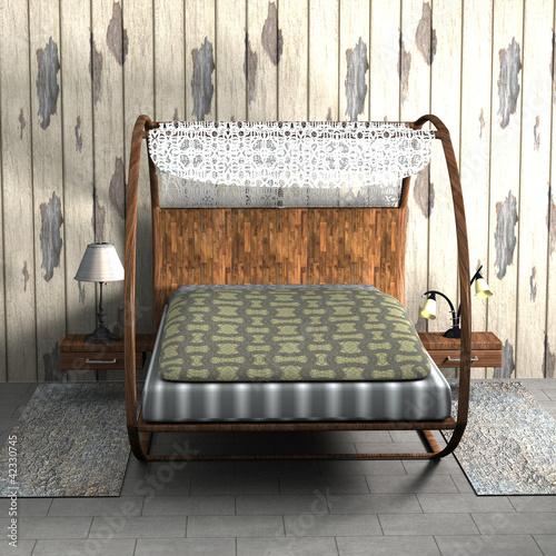 schlafzimmer mit himmelbett stockfotos und lizenzfreie bilder auf bild 42330745. Black Bedroom Furniture Sets. Home Design Ideas