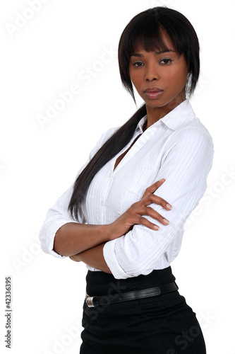successful black businesswoman