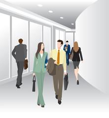 ビジネスのイメージ / 廊下