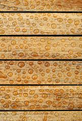 Hintergrund-nasses Holz Wassertropfen Hochformat