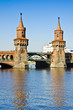 Oberbaum bridge in Berlin