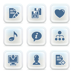 Internet icons on buttons 10
