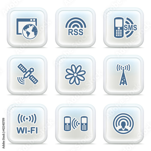 Internet icons on buttons 30
