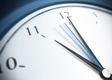 deadline and punctuality, eleven o'clock