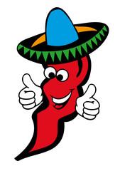 Chili mit Sombrero