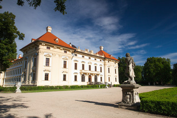 Castle in Slavkov - Austerlitz near Brno, Czech Republic