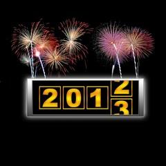 2013 fireworks start.