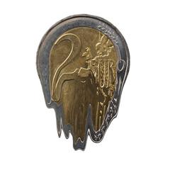 Melting euro coin