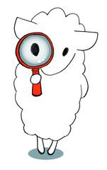 sheep-glass