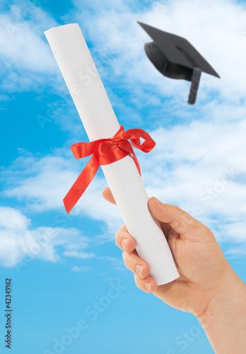 Graduation Scoll & Cap