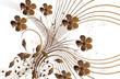 cuivre floral