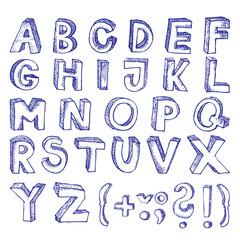 doodle alphabeth