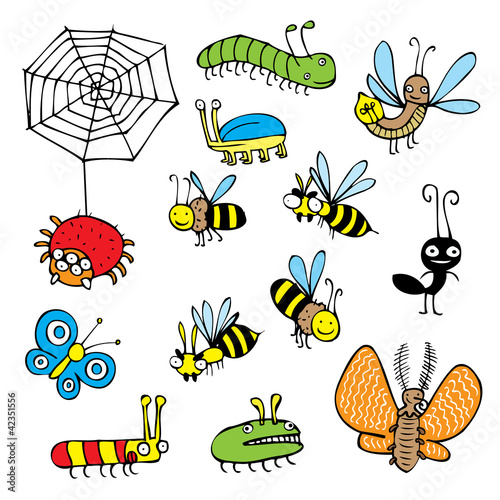 cartoon bugs