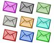 Plaquette d'enveloppes