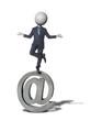 zen emailing Headman concept