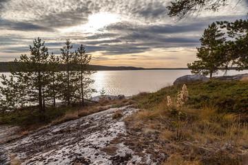 Берег Белого моря. Пейзаж