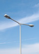 street lamp background in sky