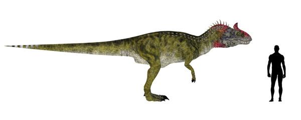 Cryolophosaurus Size Comparison