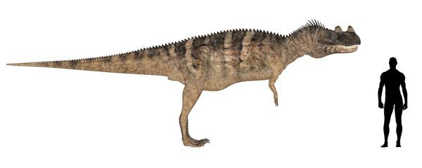 Ceratosaurus Size Comparison