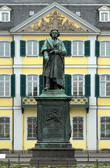 The Beethoven Monument in Bonn, Germany