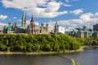 Leinwanddruck Bild - Parliament Hill, Ottawa, Ontario, Canada