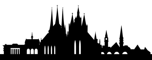 Erfurt Skyline klein