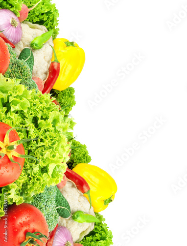 Assorted fresh vegetables