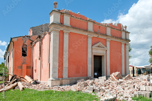 Terremoto in Emilia, Italy, city of Cavezzo - earthquake