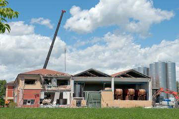 Acetaia, Terremoto in Emilia, Italy, Cavezzo - earthquake
