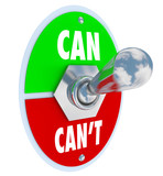 Can or Can't Toggle Switch Committed to Solution Attitude