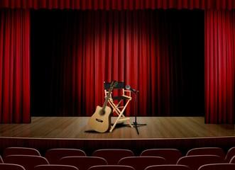 unplug concert on stage