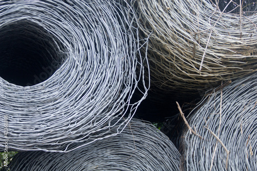 The steel wire