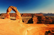 Beautiful delicate arch
