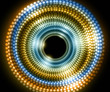 abstract new shiny colorful circle halftone vector