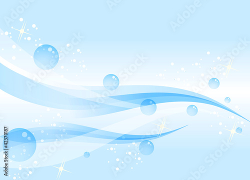 Water Buble Background vector