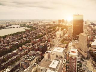 Boston View at Sunset