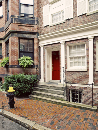 Beacon Hill Houses, Boston