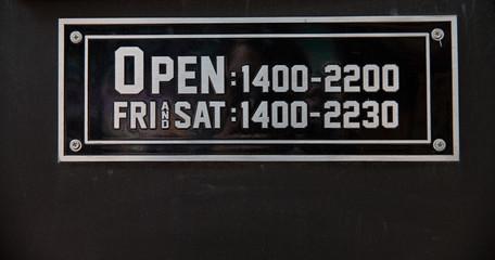 shop  open hours