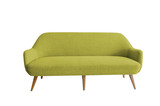 Fototapety greem sofa with with background
